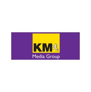 KM Media group brand logo