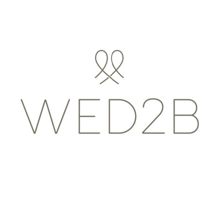 Wed 2 b brand logo